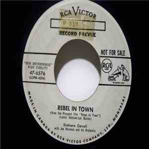 Diahann Carroll With Joe Reisman And His Orchestra - Rebel In Town / I Didn't Know What Time It Was download mp3