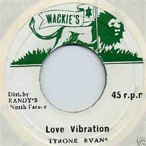Tyrone Evans - Love Vibration download mp3