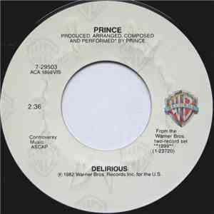 Prince - Delirious download mp3