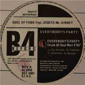 Soul Of Funk Feat. Jessita Mc. Kinney - Everybody's Party download mp3