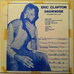 Eric Clapton - Snownose download mp3