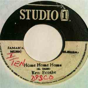 Ken Boothe / The Soul Brothers - Home Home Home / Windel download mp3